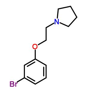 23136-18-7 1-[2-(3-bromophenoxy)ethyl]pyrrolidine