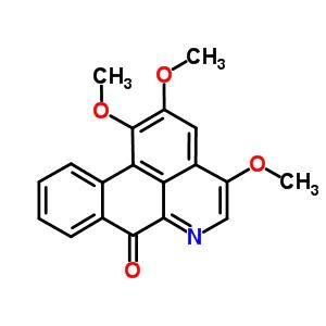 68353-25-3 1,2,4-trimethoxy-7H-dibenzo[de,g]quinolin-7-one