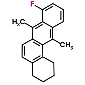 111771-09-6 8-fluoro-7,12-dimethyl-1,2,3,4-tetrahydrotetraphene