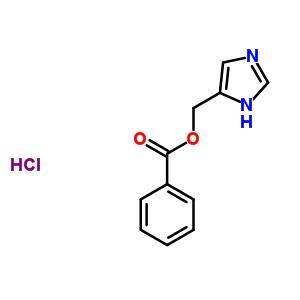 18429-73-7 1H-imidazol-5-ylmethyl benzoate hydrochloride (1:1)
