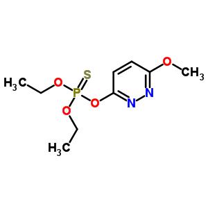 31971-50-3 O,O-diethyl O-(6-methoxypyridazin-3-yl) phosphorothioate