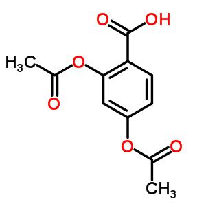 51-01-4 2,4-bis(acetyloxy)benzoic acid