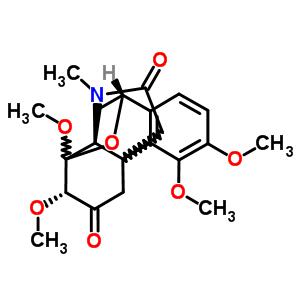 51804-68-3 (7alpha,10beta)-3,4,7,8-tetramethoxy-17-methyl-8,10-epoxyhasubanan-6,16-dione