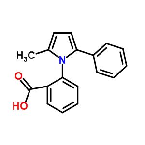 26180-27-8 2-(2-methyl-5-phenyl-1H-pyrrol-1-yl)benzoic acid