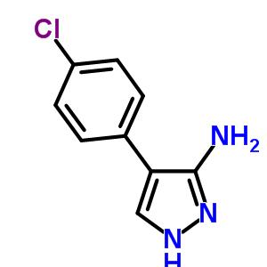 40545-65-1;57999-09-4 4-(4-chlorophenyl)-1H-pyrazol-3-amine