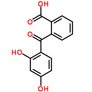 2-(2,4-Dihydroxybenzoyl)benzoic Acid 2513-33-9