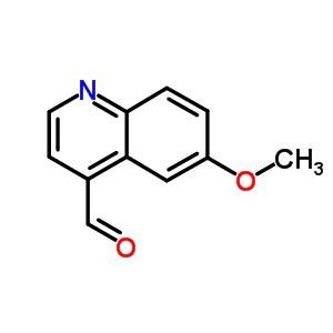 4-Quinolinecarboxaldehyde, 6-methoxy- 4363-94-4;89060-22-0