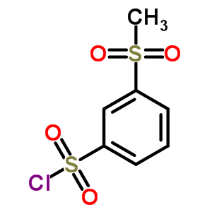 5335-40-0;502625-49-2 3-(Methylsulfonyl)benzenesulfonyl chloride