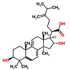 6754-16-1 (3beta,5xi,16alpha)-3,16-dihydroxy-24-methylidenelanosta-7,9(11)-dien-21-oic acid