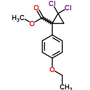 101492-41-5 methyl 2,2-dichloro-1-(4-ethoxyphenyl)cyclopropanecarboxylate