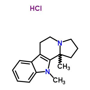 33621-13-5 11,11b-dimethyl-2,3,5,6,11,11b-hexahydro-1H-indolizino[8,7-b]indole hydrochloride (1:1)