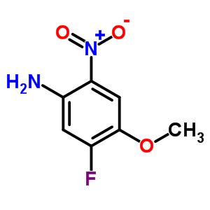 4-氨基-2-氟-5-硝基苯甲醚 446-20-8