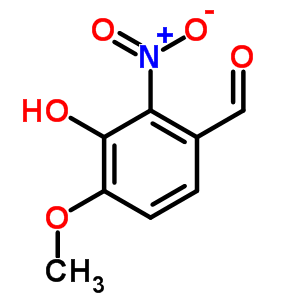 6284-92-0 3-hydroxy-4-methoxy-2-nitrobenzaldehyde