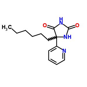6294-66-2 5-hexyl-5-(pyridin-2-yl)imidazolidine-2,4-dione