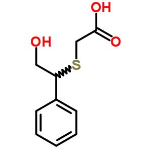 87792-25-4 [(2-hydroxy-1-phenylethyl)sulfanyl]acetic acid