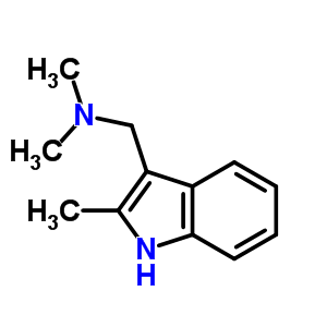 37125-92-1 N,N-dimethyl-1-(2-methyl-1H-indol-3-yl)methanamine