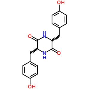 5625-40-1 3,6-bis(4-hydroxybenzyl)piperazine-2,5-dione