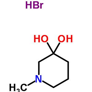 114506-99-9 1-methylpiperidine-3,3-diol hydrobromide (1:1)