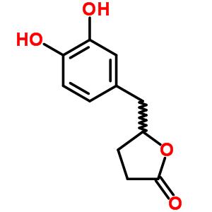 21618-92-8;83993-39-9 5-(3,4-dihydroxybenzyl)dihydrofuran-2(3H)-one