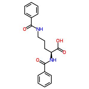 495-46-5 N~2~,N~5~-dibenzoyl-L-ornithine