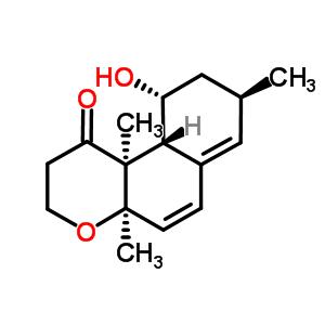 59684-36-5 (4aR,8R,10R,10aR,10bS)-10-hydroxy-4a,8,10b-trimethyl-2,3,4a,8,9,10,10a,10b-octahydro-1H-benzo[f]chromen-1-one