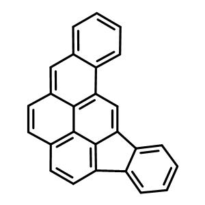 111189-34-5 fluoreno[3,2,1,9-pqra]tetraphene