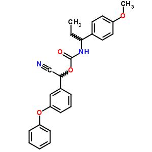 123312-19-6 cyano(3-phenoxyphenyl)methyl [1-(4-methoxyphenyl)propyl]carbamate