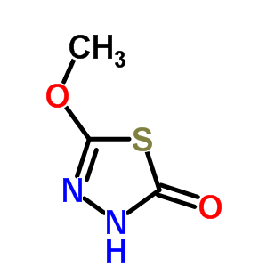 5-Methoxy-1,3,4-thiadiazol-2(3H)-one 17605-27-5