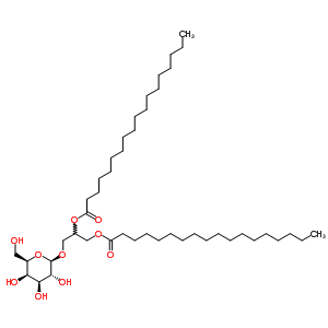 41670-62-6 3-(beta-D-galactopyranosyloxy)propane-1,2-diyl dioctadecanoate