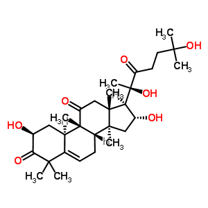 55903-92-9 (2S,4R,9beta,16alpha)-2,16,20,25-tetrahydroxy-9,10,14-trimethyl-4,9-cyclo-9,10-secocholest-5-ene-1,11,22-trione