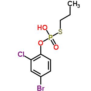81117-00-2 O-(4-bromo-2-chlorophenyl) S-propyl hydrogen phosphorothioate