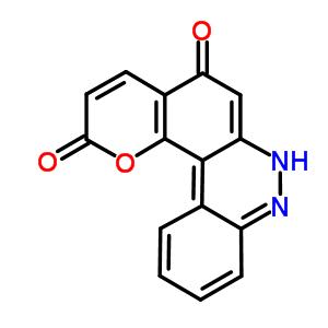87148-06-9 2H-benzo[c]pyrano[2,3-f]cinnoline-2,5(7H)-dione