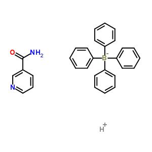 101910-37-6 hydrogen tetraphenylborate(1-) - pyridine-3-carboxamide (1:1:1)