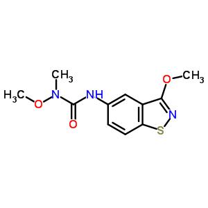 104121-61-1 1-methoxy-3-(3-methoxy-1,2-benzothiazol-5-yl)-1-methylurea