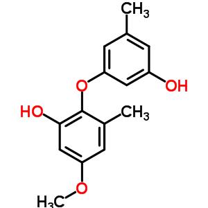 33716-82-4 2-(3-hydroxy-5-methylphenoxy)-5-methoxy-3-methylphenol