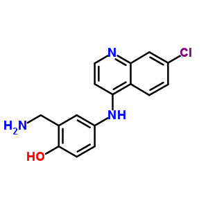 37672-04-1 2-(aminomethyl)-4-[(7-chloroquinolin-4-yl)amino]phenol
