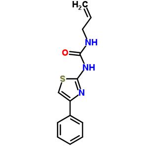 39893-79-3 1-(4-phenyl-1,3-thiazol-2-yl)-3-prop-2-en-1-ylurea