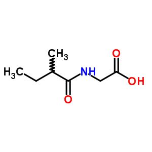52320-67-9 N-(2-methylbutanoyl)glycine