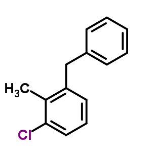 55676-82-9 1-benzyl-3-chloro-2-methylbenzene
